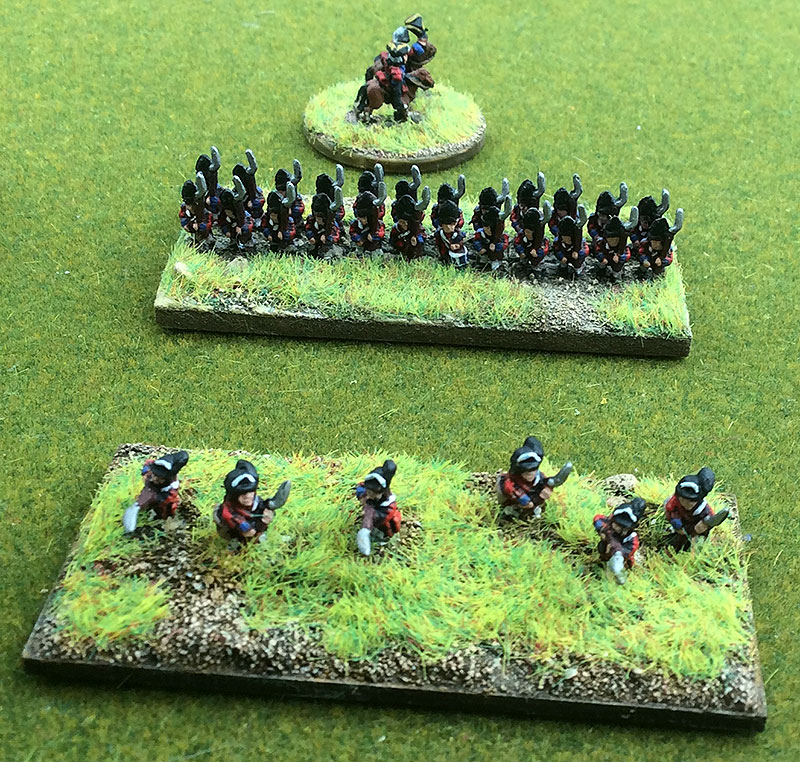 Grenadiers and Light Foot